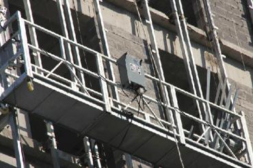 CE 승인 zlp 시리즈 일시 중단 된 와이어 로프 플랫폼 zlp500, zlp630, zlp800, zlp1000