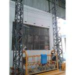 10m 강화 알루미늄 로프 플랫폼 zlp1000 단상 2 * 2.2kw