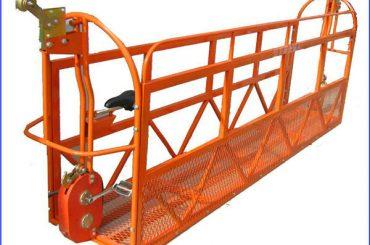 1000 kg 7.5 mx 3 섹션 알루미늄 합금 정지 작업 플랫폼 ZLP1000