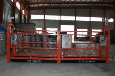 zlp1000 8 - 10 m / 분 건물 건축 및 유지 보수를위한 안전한 woking 플랫폼 정지