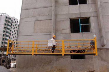 건물 청소, 핀 타입 용 800 만개의 정지 플랫폼 맞춤화 된 7.5m
