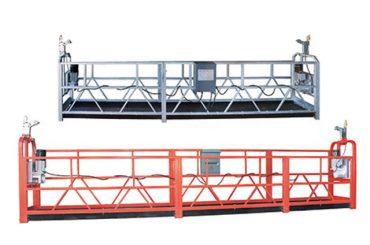 고층 건물 유지 보수 창 정지 된 작업 플랫폼 ZLP630 청소