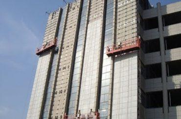 고층 청소 장비 벽 석고 기계