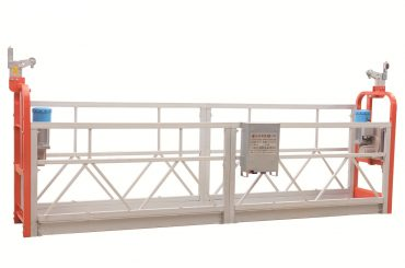 zlp630 페인트 스틸 외관 청소 작업 플랫폼을 청소