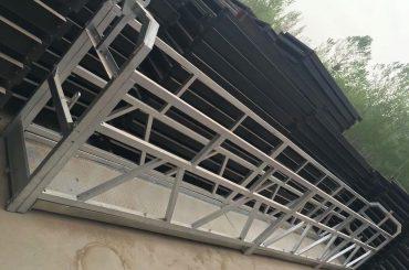 zlp630 / 800 ll 모양 알루미늄 합금, 강철 건축은 건물 창에 작업 플랫폼 리프트 중단
