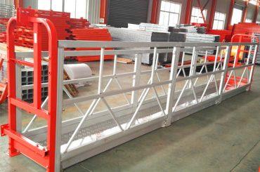 알루미늄 합금 현가 장치 스 캐 폴딩 시스템 1000 kg 창 청소용 2.2 kw