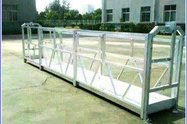 뜨거운 아연 로프 정지 플랫폼, 고층 건물 정지 곤돌라