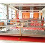 zlp630 알루미늄 정지 플랫폼 (ce iso gost) / 고층 창 청소 장비 / 임시 곤돌라 / 요람 / 스윙 스테이지 뜨거운