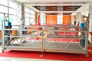 ZLP630 알루미늄 정지 플랫폼 (CE ISO GOST) / 고층 창 청소 장비 / 임시 곤돌라 / 크래들 / 스윙 스테이지 뜨거운
