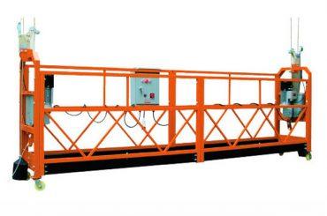 2.5M x 3 섹션 1000kg 일시 중지 된 액세스 플랫폼 상승 속도 8-10m / 분