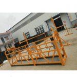 zlp 시리즈 철강 또는 alumium 일시 중단 된 로프 플랫폼