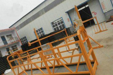 안정적인 ZLP630 페인팅 스틸 건축 공사 (2)