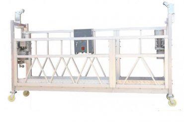 스틸 페인팅 / 핫 아연 도금 / 알루미늄 zlp630 정지 외관 작업용 플랫폼