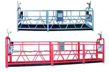 zlp 630 로프 일시 중지 플랫폼 공중 작업 스윙 스테이지 비계 플라스틱 스프레이 페인트