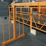 단일 위상 현수 와이어 로프 플랫폼 800 kg 1.8 kw, 들어 올리는 속도 8 -10 m / min