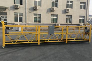 CE 인증 zlp630 알루미늄 전기 교수형 곤돌라 건설