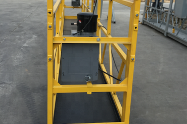 7.5m 임시 고정 와이어 로프 플랫폼 건설을위한