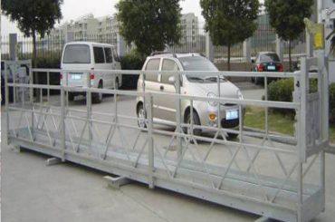 zlp630 로프가 플랫폼을 일시 중지 / 전기 스윙 무대 / 창 청소 기계를위한 스 캐 폴딩