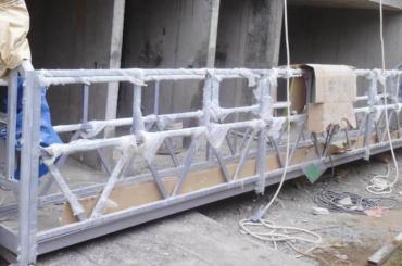 높은 안전 로프 정지 플랫폼 리프팅 높이 300m 그림에 대 한